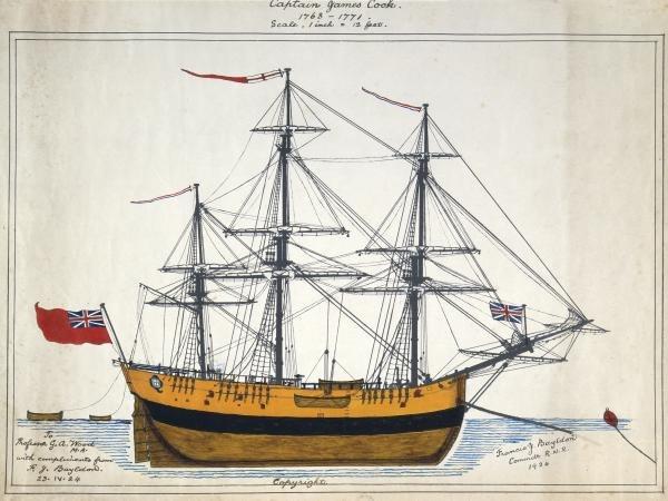 Endeavour, Bayldon, Francis J. B