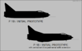 English Electric P.1B side-view silhouettes.png