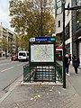 Entrée Station Métro Billancourt Boulogne Billancourt 1.jpg