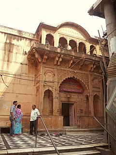 Entrance Radha Raman Temple, Vrindavan
