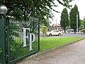 Entrance gate to Fishley Park Golf - geograph.org.uk - 2102576.jpg
