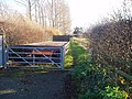 Entrance to bridleway - geograph.org.uk - 288780.jpg