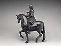 Equestrian statuette of Philip IV, King of Spain (1605–1665) MET DP-922-002.jpg
