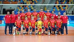 Equipo español de Voleibol de los Juegos del Mediterráneo 2018.jpg