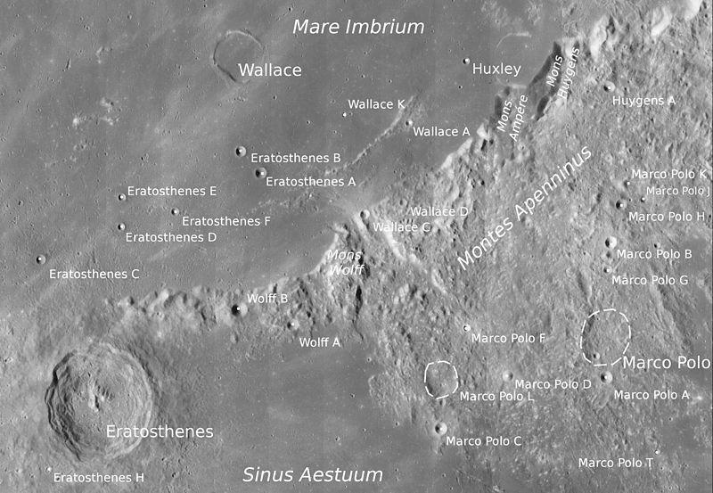 Снимок Лунного орбитального зонда