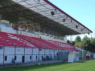 Leixões S.C. - Estádio do Mar – Main stand.