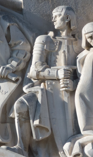 Estêvão da Gama (16th century) - Effigy of Estêvão da Gama in the Monument to the Discoveries, in Lisbon, Portugal.