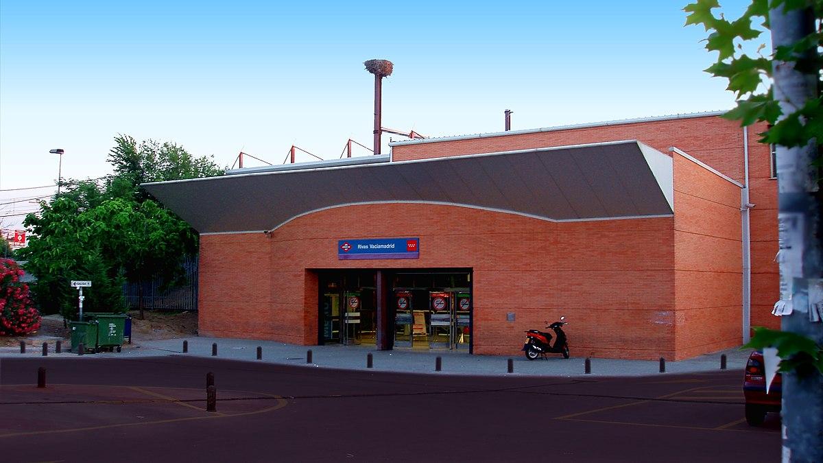 rivas vaciamadrid madrid metro wikipedia