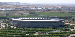 Estadio de La Cartuja - External view of the stadium