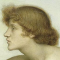 Evelyn de Morgan - Phosphorus and Hesperus, (1881) detail - upscaled 200% using Paint Shop Pro.png