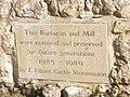 Explanatory inscription at Leeds Castle Barbican - geograph.org.uk - 1555747.jpg