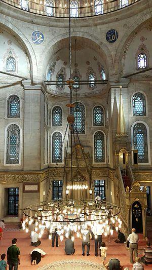 Eyüp Sultan Mosque - Image: Eyub Interior