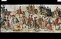 Färglagd teckning, föreställande Sigismund IIIs och drottning Konstantias intåg i Krakow den 4 december 1605, den s.k. polska (eller i Polen Stockholms-) rullen - Livrustkammaren - 81237.jpg