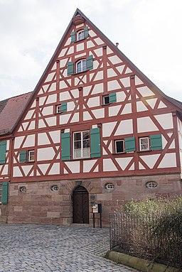 Pfarrhof in Fürth
