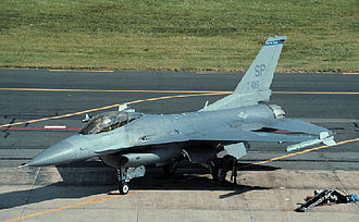 52d Operations Group - General Dynamics F-16C Fighting Falcon of the group