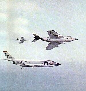 VFA-143 - VF-53 F3H-2s in 1961