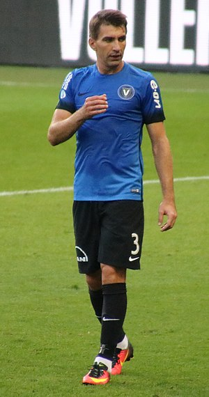 Sorin Rădoi - Rădoi playing for Viitorul Constanța in 2017