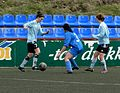 FC Suduroy - Vikingur Gota female soccer 2012.jpg