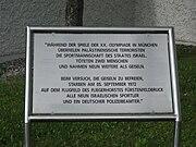 FFB Denkmal Tafel