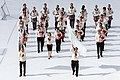 FIL 2012 - Arrivée de la grande parade des nations celtes - Bagad Saozon Sevigneg.jpg