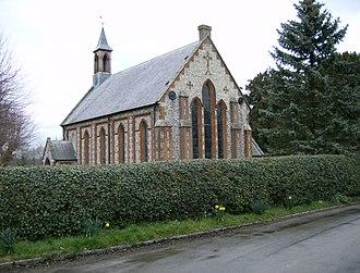 Flaunden - Image: FLAUNDEN CHURCH