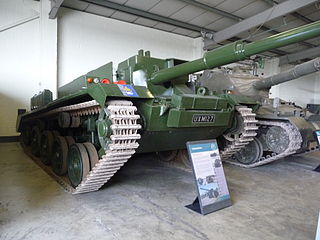 FV4401 Contentious Type of Air-portable tank destroyer