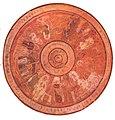 Facsimile of the Dome Painting of the Chapel of Peace, Bagawat Necropolis, Kharga Oasis MET eg30.4.228.jpg