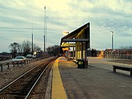 Fairmount Line platform at Readville.JPG