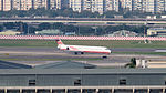 Far Eastern Air Transport MD-82 B-28021 Arrival to Taipei Songshan Airport 20160109a.jpg