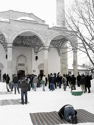 Jumu'ah - Jumu'ah prayer in Pristina