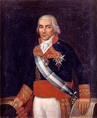 Retrato del marino español Federico Gravina