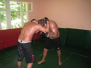 Fedor Alex Emelianenko training