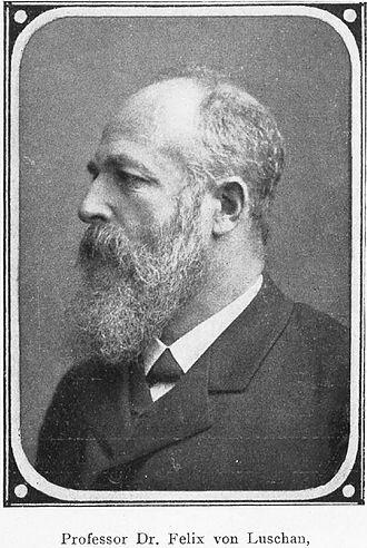 Felix von Luschan - Felix von Luschan, c. 1907