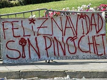Feliz navidad sin Pinochet