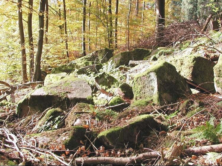 Felsenmeer b Jägerfelsen