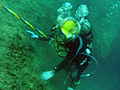 Female diver leaves her mark in history 110414-A-KU062-076.jpg