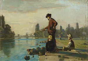 Ferdinand Hodler - Der Angler, um 1879.jpg