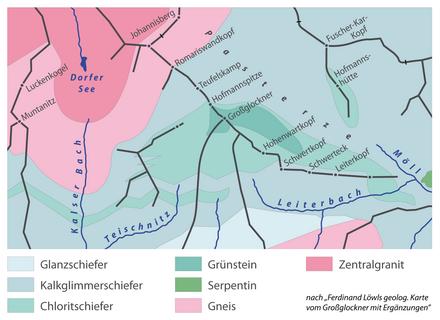 Großglockner Karte.Großglockner Wikiwand