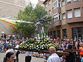 Festa Major d'Igualada 2014 - 06 Cercavila de trasllat de Sant Bartomeu..JPG