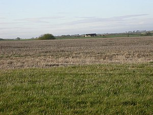 Covington, Cambridgeshire - A view across Boring Field