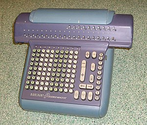 Marchant calculator - Figurematic (1950-52)