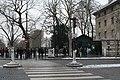 File d'attente pour l'entrée des carrières, place Denfert-Rochereau, Paris.jpg