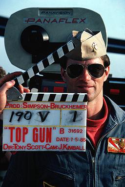 Filming of Top Gun movie (01) 1985