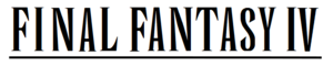 Immagine Final Fantasy IV wordmark.png.