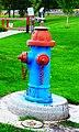 Fire Hydrant Drinking Fountain in Dayville, Oregon (37768075906).jpg