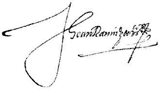 Juan Ramírez de Velasco - Image: Firma de Juan Ramírez de Velasco