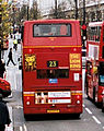 First London bus route 23 Oxford Street December 2006.jpg