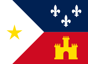 Flag of Acadiana.svg