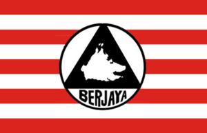 Sabah People's United Front - Image: Flag of Berjaya Party