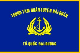 Flag of Nha Trang Naval Training Center.png